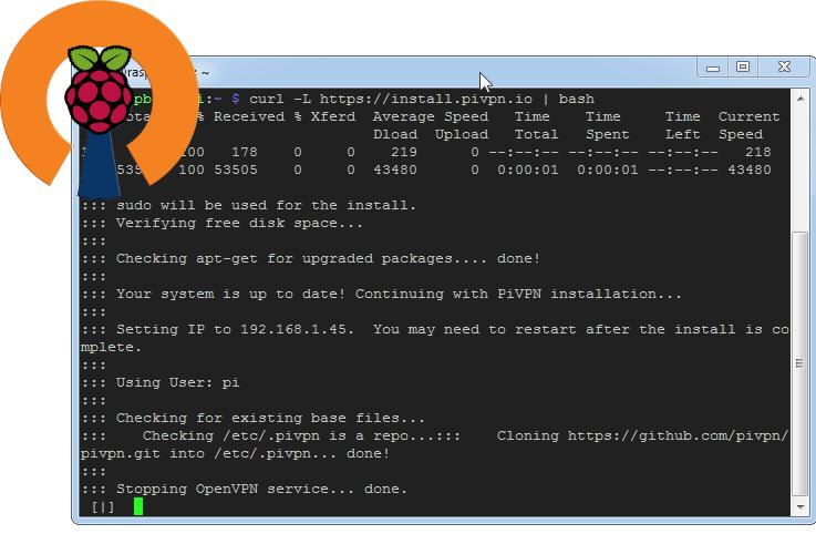 Installation PiVPN - Den Raspberry Pi einfach zum VPN-Server