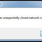 Da die Verbindung zum Raspberry Pi durch den Neustart unterbrochen wird, schließt sich Putty und wir erhalten eine Warnmeldung.