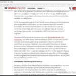 Beispiel Spiegel Online ohne Werbung