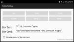 Den ursprünglichen Befehl erweitern wir um den Pfad zur Datei synoshare