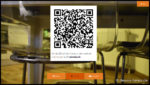 """Im Anschluss wir das Bild angezeigt. Ein Klick auf """"QR Code"""" zeigt den Code zum Download an."""