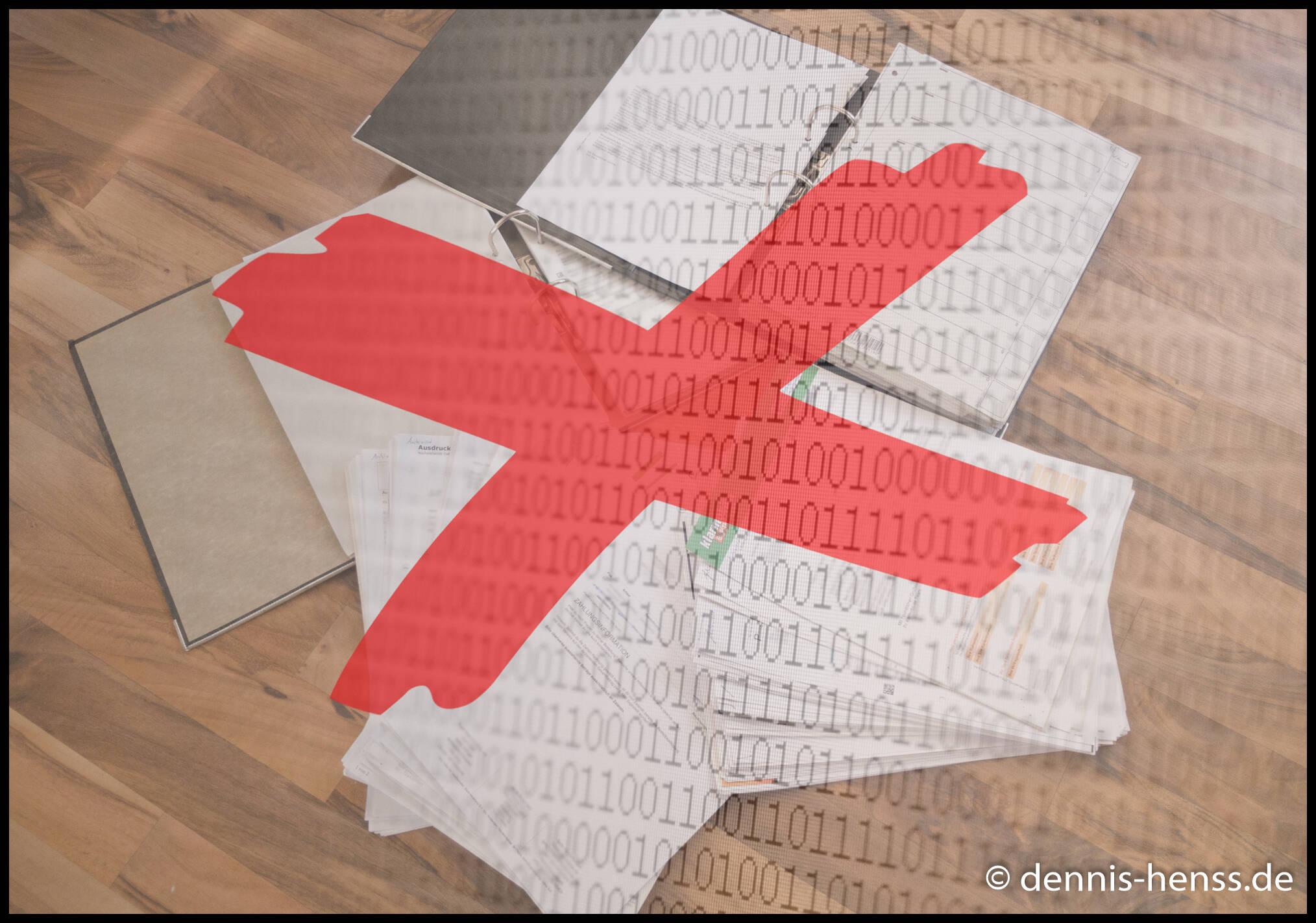 Bye bye Papierchaos - willkommen digitales Dokumentenarchiv